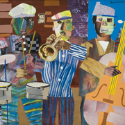 BEARDEN: Jazz Village, 1967