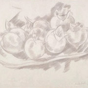 HARTLEY: Still Life, Pomegranates, 1927