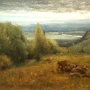 INNESS: From the Shawangunk Mountains, 1885