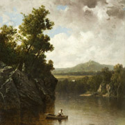 JOHNSON: Scenery on the Winooski, Vt., 1876