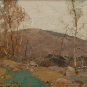 RYDER: Mountian Birches, 1915